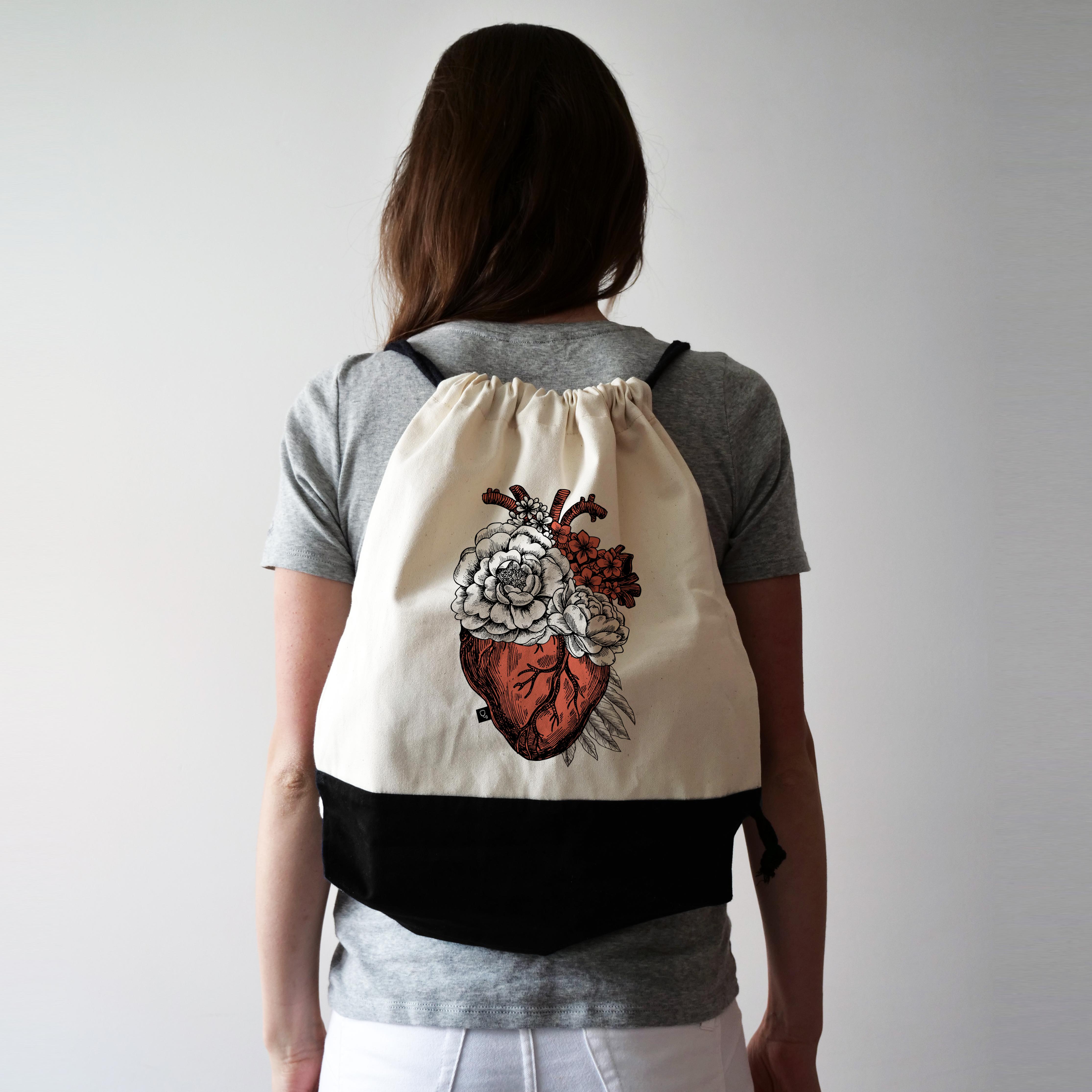 5564927e103a9 Plecak z sercem – Mama i stetoskop
