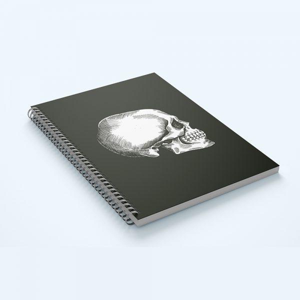 Notes z czaszką